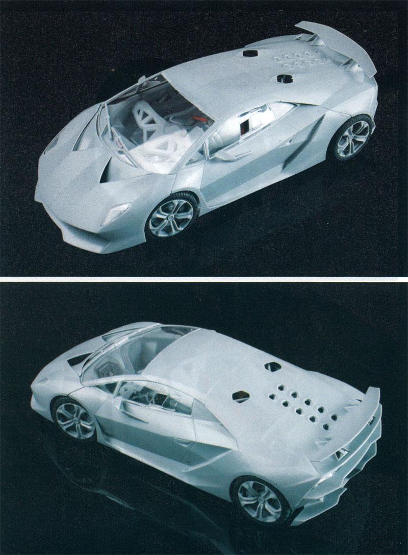 ランボルギーニ セスト エレメント 共通ディテールアップパーツエッチング(アオシマ1/24 スーパーカー エッチングパーツNo.005)商品画像_4
