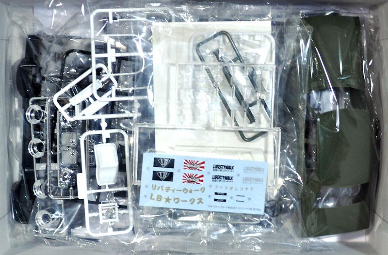 LB ワークス ケンメリ 4Dr 2015Ver.プラモデル(アオシマ1/24 リバティーウォークNo.008)商品画像_1