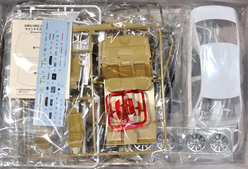 ロジャム 21 クラウン ロイヤルサルーンプラモデル(アオシマ1/24 スーパーVIPカー 極シリーズNo.111)商品画像_1