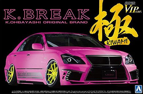 K-BREAK 18 クラウン ハイパーゼロカスタム Ver.2プラモデル(アオシマ1/24 スーパーVIPカー 極シリーズNo.112)商品画像