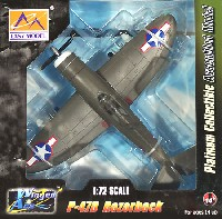 イージーモデル1/72 ウイングド エース (Winged Ace)P-47D サンダーボルト レイザーバック 第8戦闘航空群 第56戦闘飛行隊