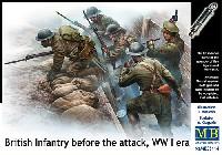WW1 イギリス歩兵部隊 出撃前