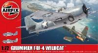 エアフィックス1/72 ミリタリーエアクラフトグラマン F4F-4 ワイルドキャット