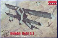 ローデン1/48 エアクラフト プラモデルドイツ ハインケル He51B.1 複葉戦闘機