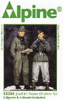 アルパイン1/35 フィギュアヨアヒム・パイパー & 下士官 ハリコフの戦い (2体セット)