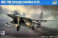 トランペッター1/72 エアクラフト プラモデルMiG-29A 9.12 ファルクラム