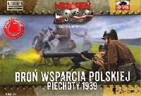 FTF1/72 AFVポーランド 迫撃砲 & 機関銃 (ビエホティ 1939)