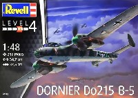 レベル1/48 飛行機モデルドルニエ Do215B-5 夜間戦闘機