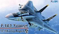 フジミAIR CRAFT (シリーズF)F-14A トムキャット ジョリーロジャース