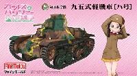 ファインモールドガールズ&パンツァー知波単学園 九五式軽戦車 ハ号 (劇場版 ガールズ&パンツァー)