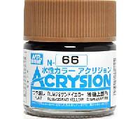 GSIクレオス水性カラー アクリジョンRLM79 サンドイエロー (N-66)