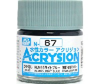 GSIクレオス水性カラー アクリジョンRLM65 ライトブルー (N-67)