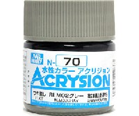 GSIクレオス水性カラー アクリジョンRLM02 グレー (N-70)