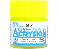 GSIクレオス水性カラー アクリジョン蛍光イエロー (N-97)