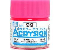 GSIクレオス水性カラー アクリジョン蛍光ピンク (N-99)