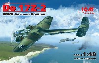 ICM1/48 エアクラフト プラモデルドルニエ Do17Z-2 爆撃機