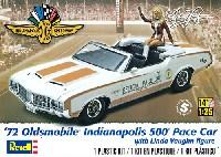 '72 オールズモビル インディアナポリス 500 ペースカー w/リンダ・ヴォーン フィギュア
