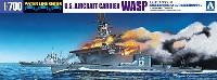 米国海軍 航空母艦 ワスプ & 日本海軍 潜水艦 伊19