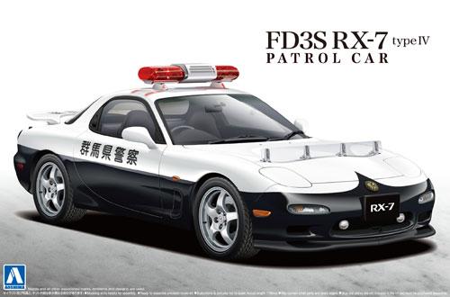 FD3S RX-7 4型 パトロールカープラモデル(アオシマ1/24 ザ・ベストカーGTNo.060)商品画像