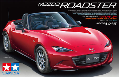 マツダ ロードスタープラモデル(タミヤ1/24 スポーツカーシリーズNo.342)商品画像