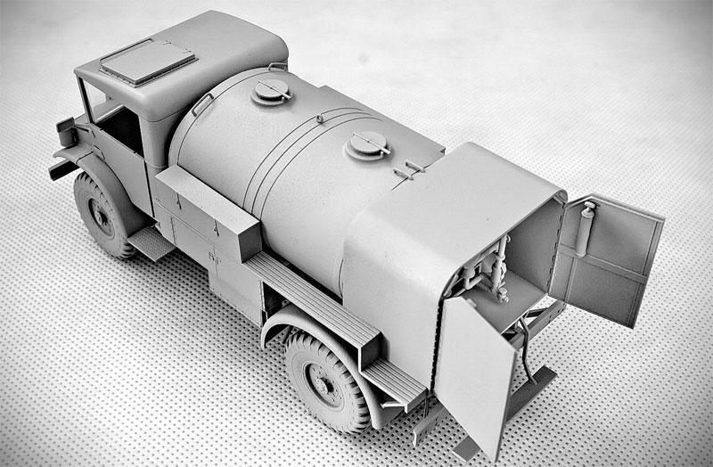 シボレー C60S タンクローリー No.12&No.13キャブプラモデル(IBG1/35 AFVモデルNo.35036)商品画像_2