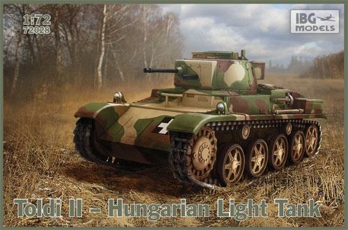 トルディ 2 ハンガリー軽戦車プラモデル(IBG1/72 AFVモデルNo.72028)商品画像