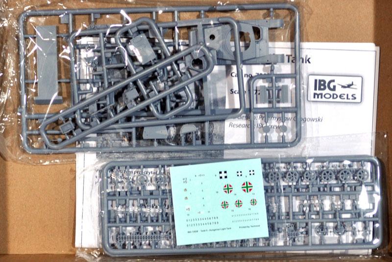 トルディ 2 ハンガリー軽戦車プラモデル(IBG1/72 AFVモデルNo.72028)商品画像_1