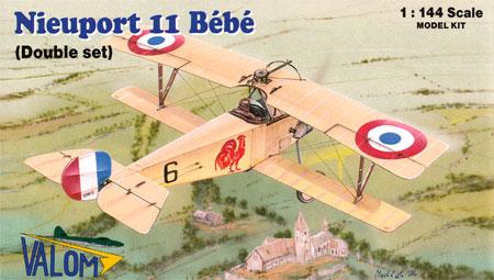 ニューポール 11 べべ 複葉戦闘機プラモデル(バロムモデル1/144 エアクラフトNo.14413)商品画像