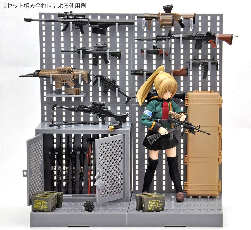 ガンラック Aプラモデル(トミーテックリトルアーモリー (little armory)No.LD002)商品画像_3