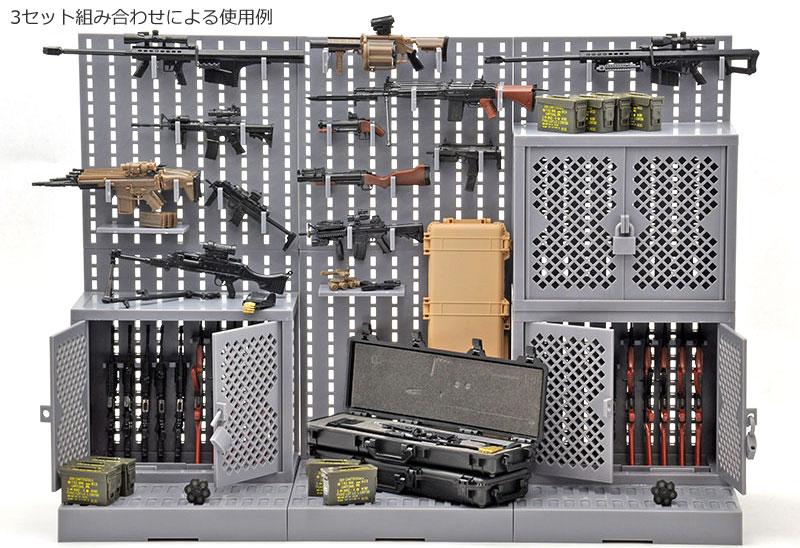 ガンラック Aプラモデル(トミーテックリトルアーモリー (little armory)No.LD002)商品画像_4