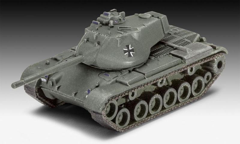 ドイツ陸軍車輛セット (M47 & HS30 & LKW)プラモデル(レベル1/144 ミリタリーNo.03351)商品画像_2