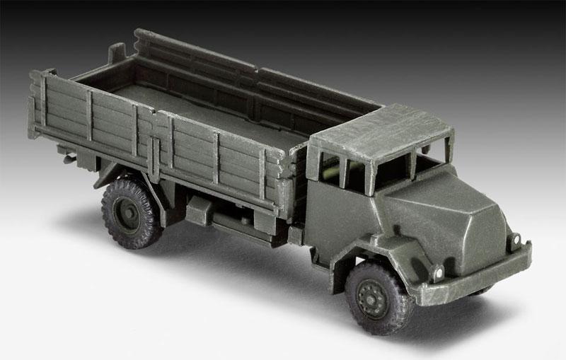 ドイツ陸軍車輛セット (M47 & HS30 & LKW)プラモデル(レベル1/144 ミリタリーNo.03351)商品画像_4