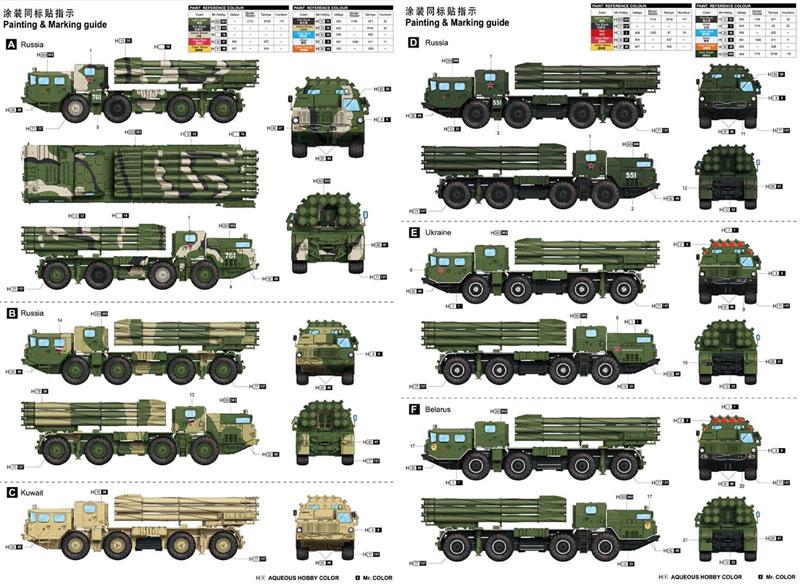 ロシア 9A52-2 スメーチ-Mプラモデル(トランペッター1/35 AFVシリーズNo.01020)商品画像_1