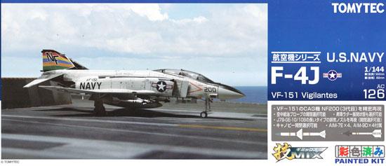 アメリカ海軍 F-4J ファントム 2 VF-151 ビジランティーズプラモデル(トミーテック技MIXNo.AC126)商品画像