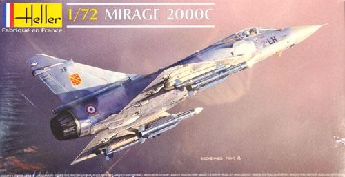 ミラージュ 2000Cプラモデル(エレール1/72 エアクラフトNo.80303)商品画像