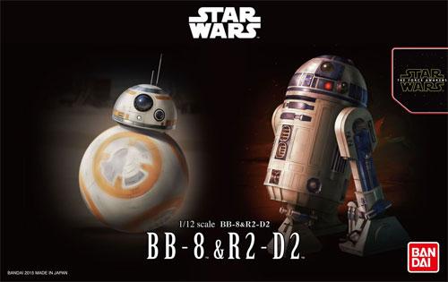 BB-8 & R2-D2プラモデル(バンダイスターウォーズNo.0203220)商品画像