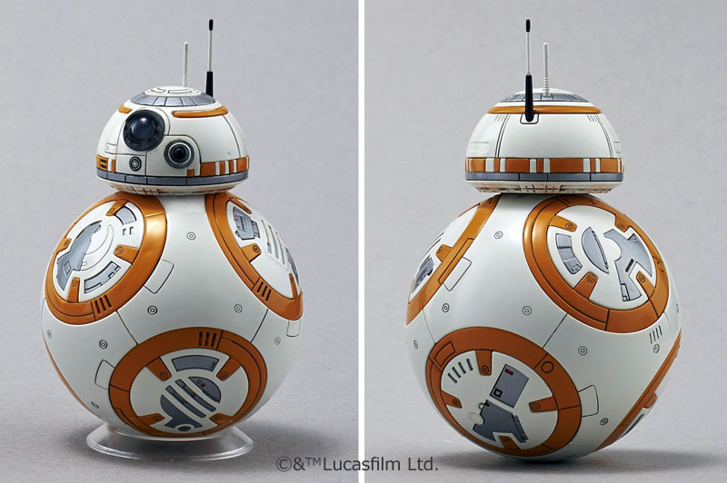 BB-8 & R2-D2プラモデル(バンダイスターウォーズNo.0203220)商品画像_1