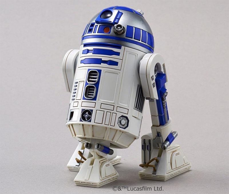BB-8 & R2-D2プラモデル(バンダイスターウォーズNo.0203220)商品画像_2