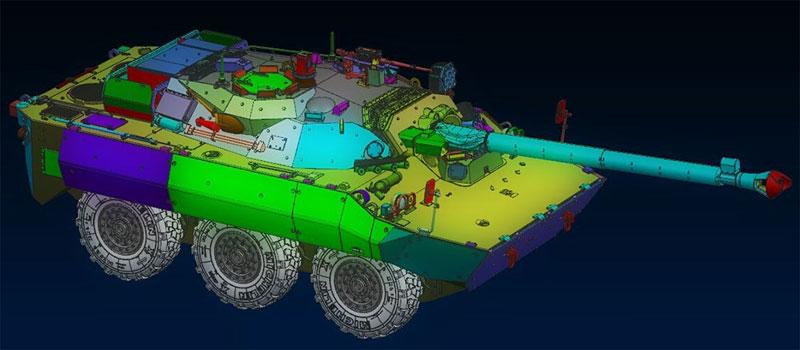フランス AMX-10RCR 対戦車装輪装甲車プラモデル(タイガーモデル1/35 AFVNo.TM-4602)商品画像_2