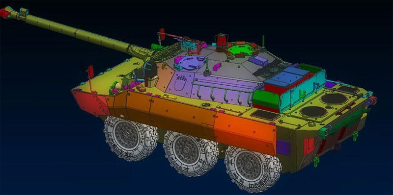 フランス AMX-10RCR 対戦車装輪装甲車プラモデル(タイガーモデル1/35 AFVNo.TM-4602)商品画像_3