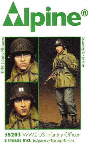 WW2 アメリカ軍 歩兵 (マッキーノコート)レジン(アルパイン1/35 フィギュアNo.AM35203)商品画像