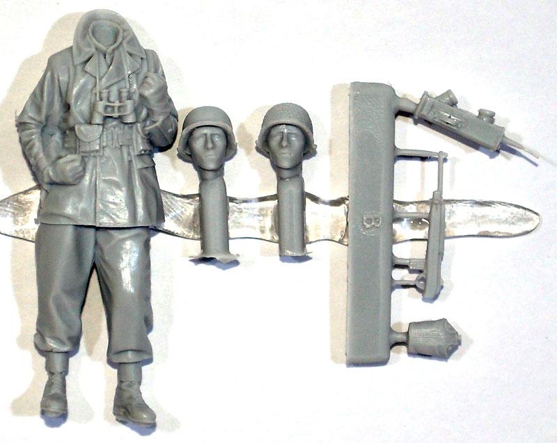 WW2 アメリカ軍 歩兵 (マッキーノコート)レジン(アルパイン1/35 フィギュアNo.AM35203)商品画像_1
