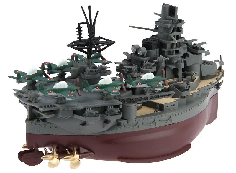 ちび丸艦隊 日向 (航空戦艦)プラモデル(フジミちび丸艦隊 シリーズNo.ちび丸-014)商品画像_2