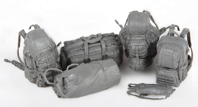 現用イスラエル国防軍 装備携行品レジン(MENG-MODELサプライ シリーズNo.SPS-020)商品画像_2