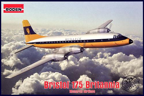ブリストル 175 ブリタニア モナーク航空プラモデル(ローデン1/144 エアクラフトNo.323)商品画像