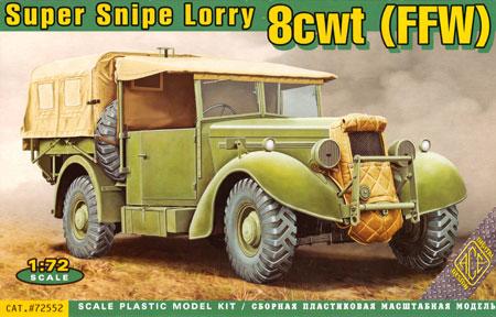 スーパースナイプ 8cwt (FFW) 小型トラックプラモデル(エース1/72 ミリタリーNo.72552)商品画像