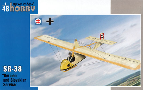 DFS SG-38 教練グライダー ドイツ・スロバキアプラモデル(スペシャルホビー1/72 エアクラフト プラモデルNo.48141)商品画像