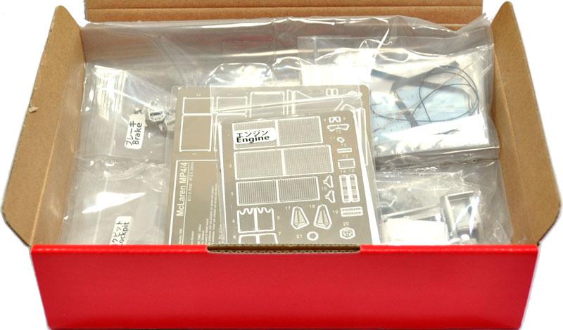 マクラーレン MP4/4 ディスプレイコンプリートセット #12 (サイドインテーク仕様)メタル(スタジオ27F-1 ディテールアップパーツNo.DP20009)商品画像_1