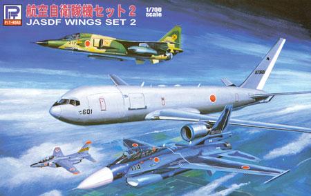 航空自衛隊機セット 2プラモデル(ピットロードスカイウェーブ S シリーズNo.S-038)商品画像