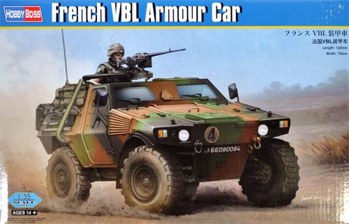 フランス VBL 装甲車プラモデル(ホビーボス1/35 ファイティングビークル シリーズNo.83876)商品画像